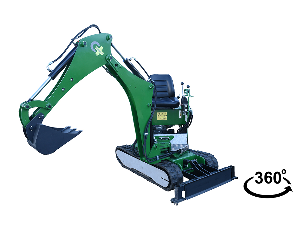 MINI EXCAVATOR THE SPHINX MPT-82-1500-S ®