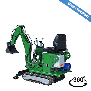 ELECTRICAL MINI EXCAVATOR - 72 CM PLUG IN ELECTRIC