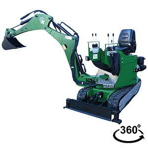 MINI EXCAVATOR THE SPHINX MPT-82-1500-P ®